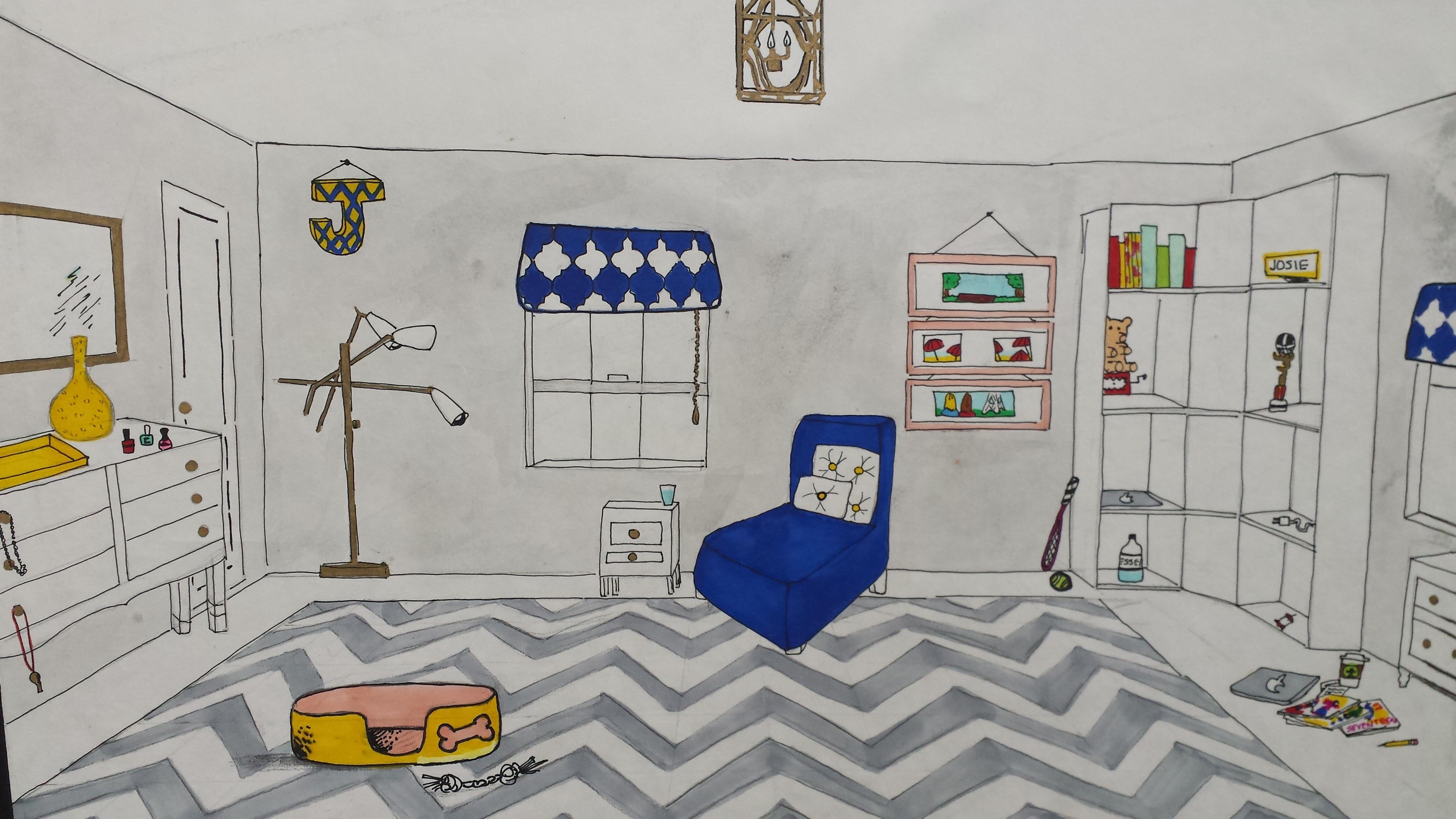 Interior Design Emma Teaches Art